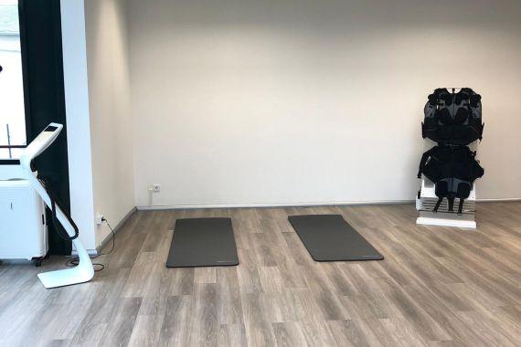 Blick auf den KörperImpuls Trainingsbereich